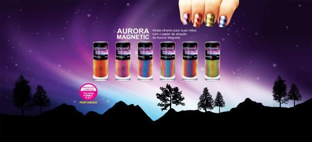 """""""Atraia olhares para suas mãos com o poder de atração do Aurora Magnetic""""."""