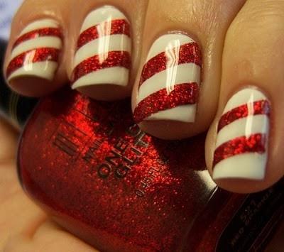 Listras. Foto do blog Chloe's Nails.