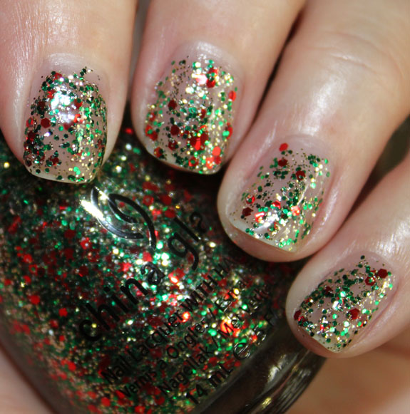 Party Hearty, da China Glaze. Foto do blog Vampy Varnish.