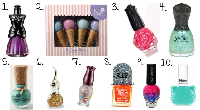 cute nail polish bottles