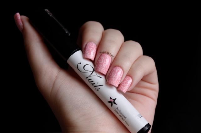 white nailart pen 5
