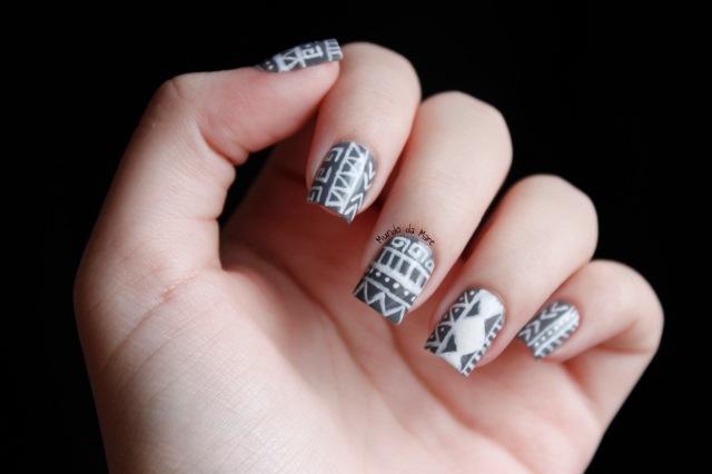 tribal nails 1
