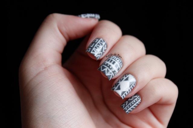 tribal nails 3