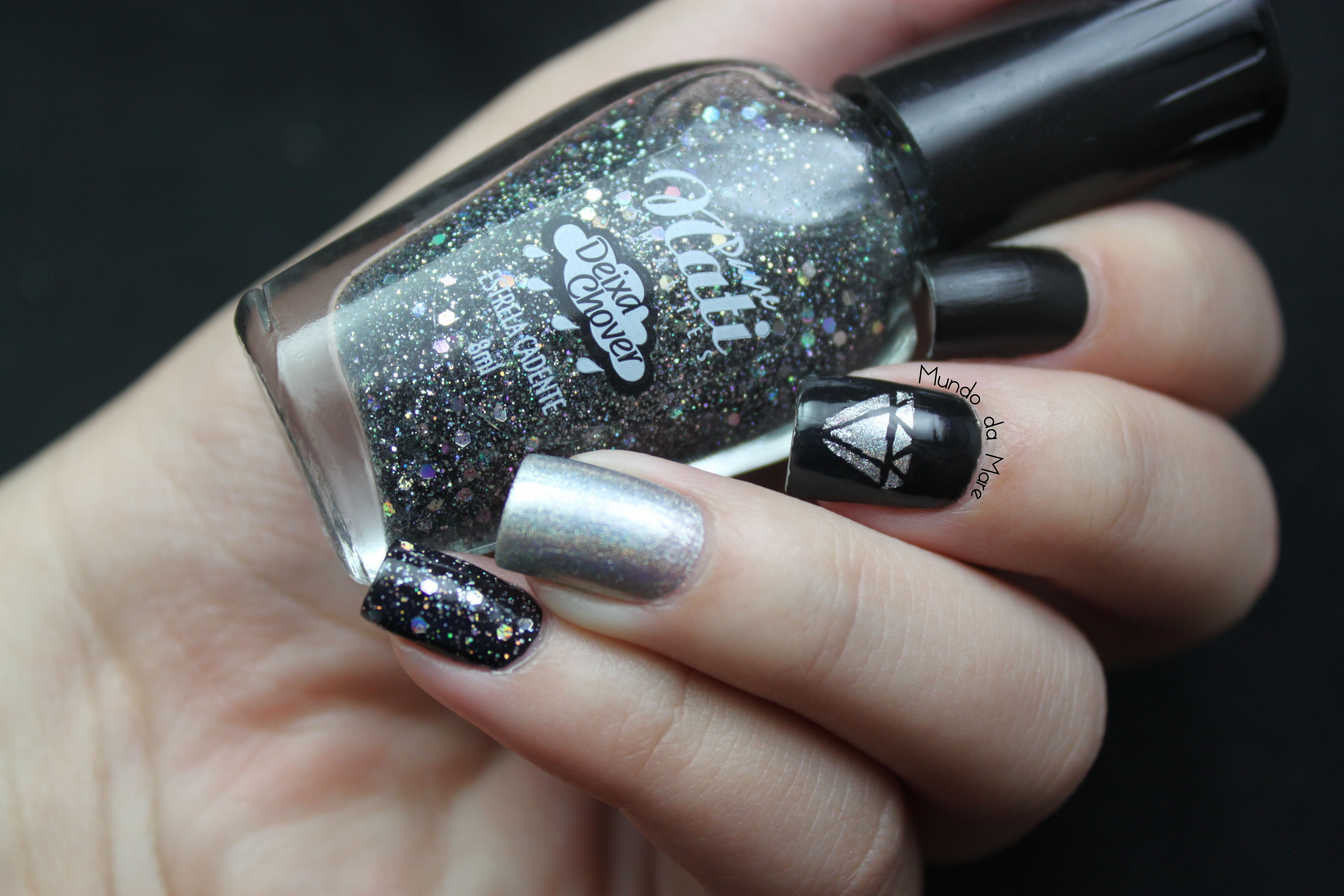 Nail Art de Diamante | Mundo da Mare